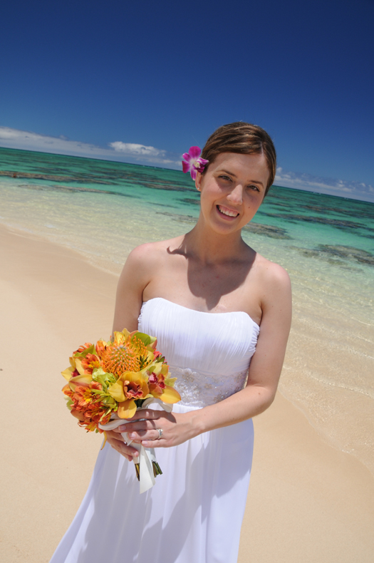 Hawaii Wedding Flowers, Bouquets & Leis